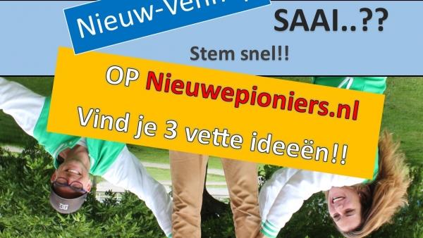 Stem op jongeren-initiatieven vrije tijd voor Nieuw-Vennep! MENES!