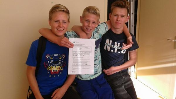 Jesper, Wesse en Luc
